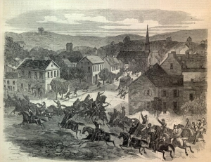 Morgan's Raiders Enter Washington